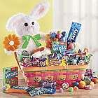Bunny Floral Easter Basket