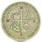 Four Seasons Ecclesiastes Garden Plaque