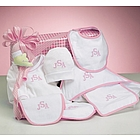 Personalized Baby Girl Layette Collection