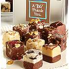 Big Thank You Gourmet Fudge Tin