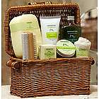 Healing Lemon Avocado and Olive Spa Basket