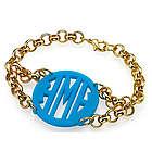 Acrylic Monogram Bracelet