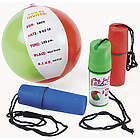 Beach Ball Invitations in Containers