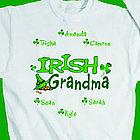 Personalized Irish Sweatshirt