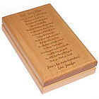 To My Friend Personalized Wooden Keepsake Box
