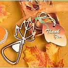 Fall Leaf Bottle Opener Favors