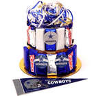Dallas Cowboys Candy Bar Cake