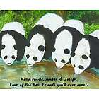Personalized Friendly Panda Print