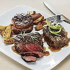 Sirloin Steaks Trio