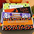 Personalized Halloween Chocolate Bars