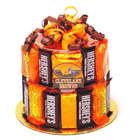 Cleveland Browns Candy Bar Cake
