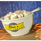 Personalized Ceramic Ice Cream Bowl