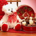 Sending All My Love Valentine's Day Bear and Chocolates