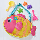 Personalized Kid's Fish Tote Bag and Beach Toy Set