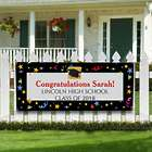 Let's Celebrate Personalized Graduation Party Banner