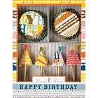 Bright Pattern Birthday Party Cupcake Kit