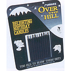 Over the Hill Black Re-Lighting Candles