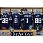 Dallas Cowboys 16x24 Personalized Locker Room Canvas