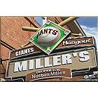 San Francisco Giants 16x24 Baseball Personalized Pub Sign Print