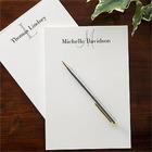 Classic Monogram Personalized Notepad