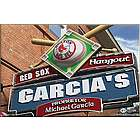 Boston Red Sox 16x24 MLB Baseball Personalized Pub Sign Print