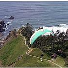 Paragliding Over Del Rey Beach