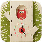 Tree Owl Clock