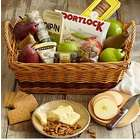 A Spread To Share Snack Basket with Happy Birthday Ribbon