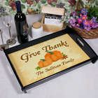 Give Thanks Personalized Serving Tray
