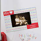 Our Loving Hearts Magnet Personalized Picture Frame