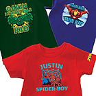 Personalized Superhero Kids T-Shirt