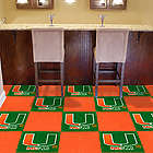 Miami Hurricanes Carpet Tiles