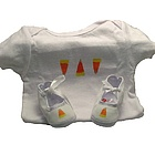 Baby Halloween Layette Set with Candy Corn