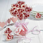 Heart-Shaped Swirl Pops