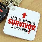 Cancer Survivor Key Chain