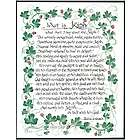 What Is Irish Wall Plaque