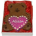 Sweet-Heart Bear Hug Cookie
