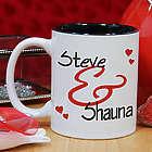 Personalized Couples Romantic Mug