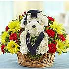 Best in Class Puppy Floral Arrangement