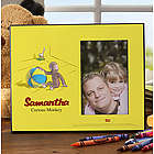 Personalized Curious George Picture Frame