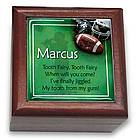 Personalized Football Tooth Fairy Box