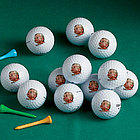 Personalized Photo Golf Ball Set