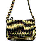Chic in Antique Gold Soda Pop-top Cosmetics Shoulder Bag
