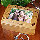 Best Friends Photo Keepsake Box