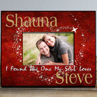 Personalized The One My Soul Loves Printed Frame