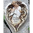 Always Remembered Angel Garden Plaque
