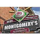 Cincinnati Reds 16x24 Personalized Pub Sign Canvas