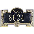 Personalized Failte Address Plaque