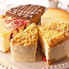 Best of Junior's 4-Flavor Sampler Cheesecake