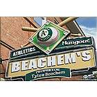 Oakland A's 16x24 Personalized Pub Sign Canvas
